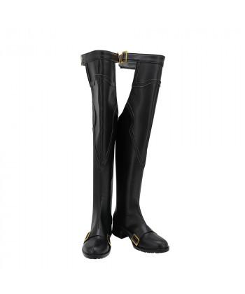 Granblue Fantasy GBF Lancelot Shoes Cosplay Men Boots