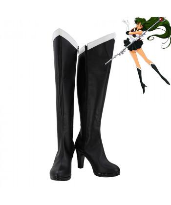 Sailor Moon Sailor Pluto Meiou Setsuna Cosplay Shoes Women Boots