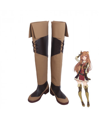 The Rising Of The Shield Hero Raphtalia Cosplay Shoes Women Boots