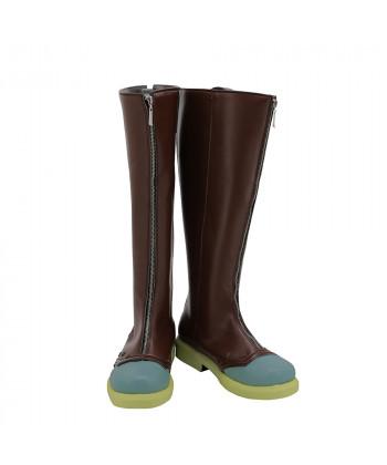 JoJo's Bizarre Adventure 4 Rohan Kishibe Shoes Cosplay Men Boots