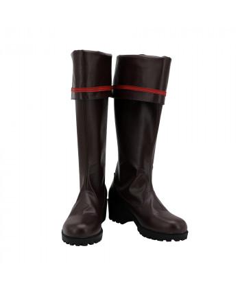 D.Gray-man Lavi Shoes Cosplay Men Boots