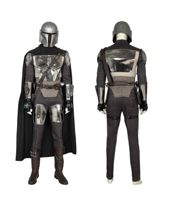The Mandalorian Costume Cosplay Suit Star Wars for Adult