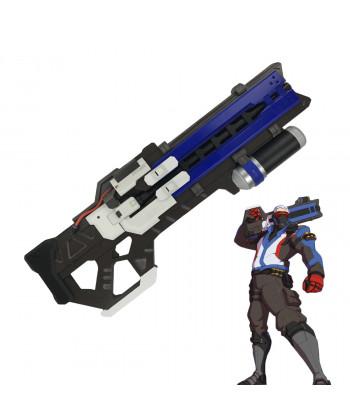 Overwatch Soldier 76 Weapon PVC Gun Cosplay Props 30