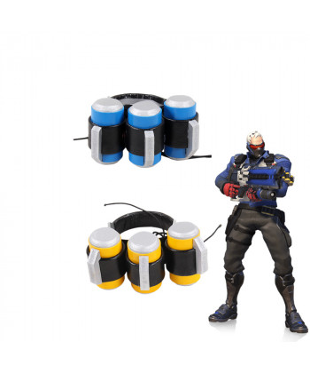 OW Overwatch Soldier 76 Default Skin Clip Cosplay Prop Accessory Two Color