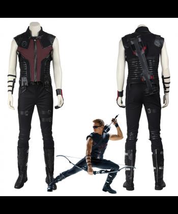 The Avengers Clint Barton Hawkeye Cosplay Costume