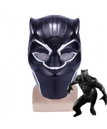 Black Panther T'Challa Mask Helmet Cosplay Prop