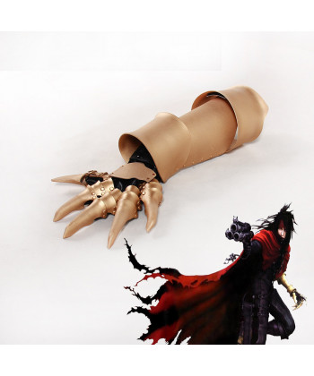 Final Fantasy VII Vincent Valentine Claw Gauntlet Hand Armour Cosplay Prop