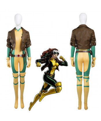 X-Men Anna Marie Rogue Cosplay Costume