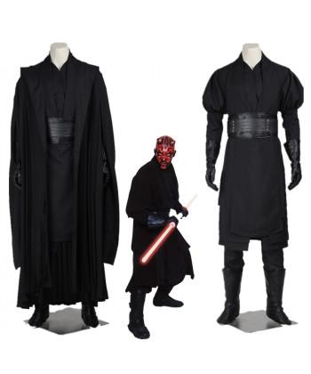 New Star Wars Jedi Knight Darth Maul Cosplay Costume