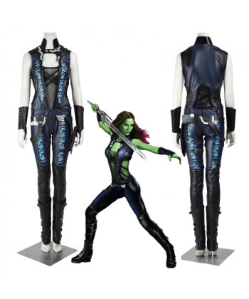 New Guardians of the Galaxy Gamora Cosplay Costume