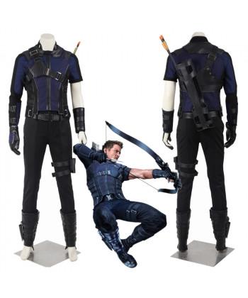 New Captain America Civil War Clint Barton Hawkeye Cosplay Costume