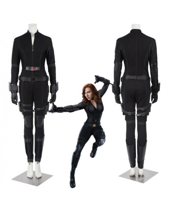 Captain America Civil War Natasha Romanoff Black Widow Cosplay Costume