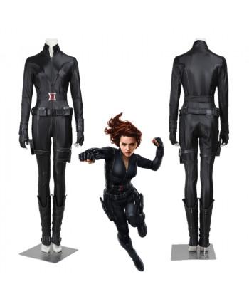 New the Avengers Natasha Romanoff Black Widow Cosplay Costume