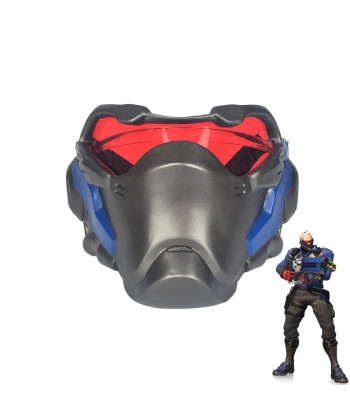 Overwatch Soldier 76 Mask Face Guard Accessories Cosplay Prop