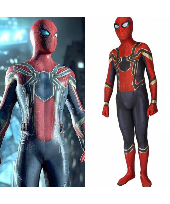 Avengers infinity war spiderman cosplay costume