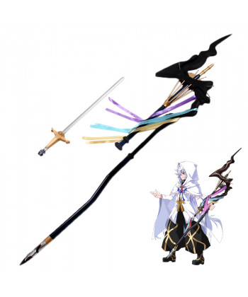 Fate Grand Order Merlin Wand With Sword Cosplay Prop