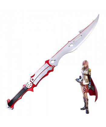 Final Fantasy XIII FF13 Lightning Gunblade Sword Cosplay Prop