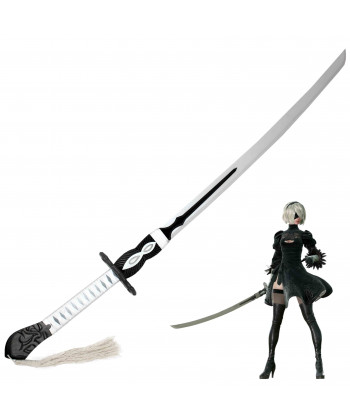 NieR Automata YoRHa No 2 Type B Virtuous Contract Sword Cosplay Prop