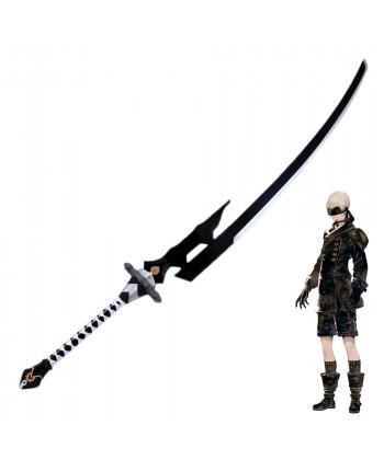 NieR Automata YoRHa No 9 Type S 9S Large Sword Cruel Blood Oath Cosplay Prop