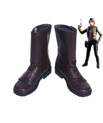 Rogue One A Star Wars Story Jyn Erso Boots Cosplay Shoes
