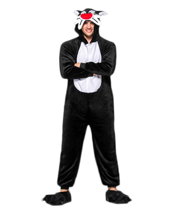 Adult Tom and Jerry Tom Pajamas Animal Onesies Costume Kigurumi  sc 1 st  Ubestcosplay & Tom and Jerry Tom Pajamas Animal Onesies Costume Kigurumi