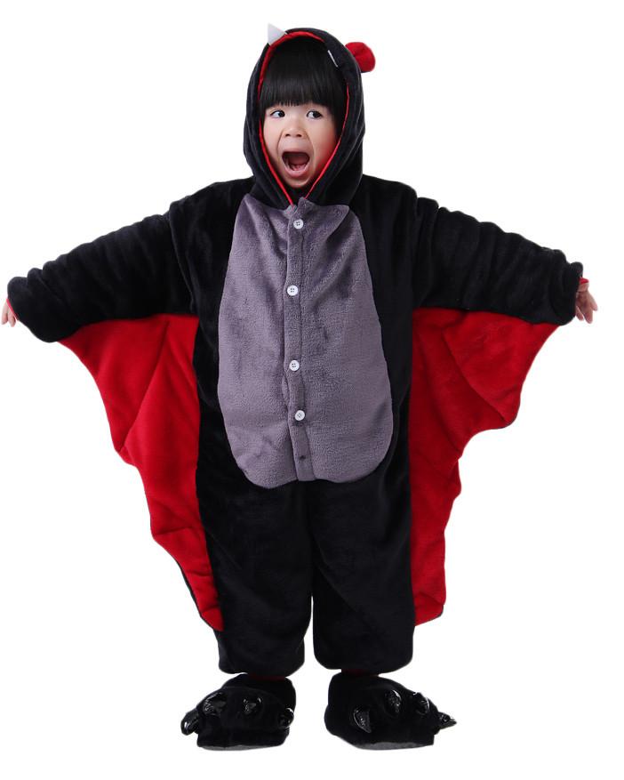 cb3b79a914 Kids Baby Bat Pajamas Animal Onesies Costume Kigurumi