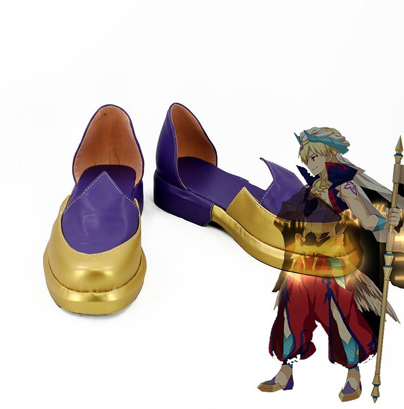 a917043eeaa Fate/Grand Order FGO Gilgamesh Caster Cosplay Shoes