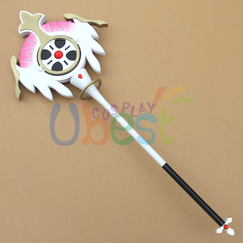 Elsword aisha elemental master wand pvc cosplay prop for The master wand