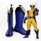 X-men Wolverine Logan Cosplay Blue ShoesBoots