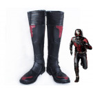 Marvel Movie Ant Man Cosplay Shoes Black Boots