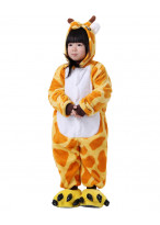 Kids Giraffe Pajamas Animal Onesies Costume Kigurumi