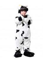 Kids Milk Cow Pajamas Animal Onesies Costume Kigurumi