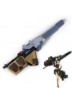 GOD EATER Sakuya Gun Weapon PVC Cosplay prop
