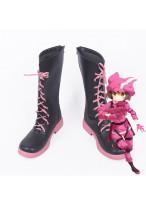 Sword Art Online Gun Gale Online LLEN Fight Kohiruimaki Karen Cosplay Boot Shoes