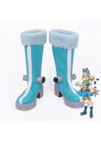 My Hero Academia Boku No Hero Kouta Izumi Pussycats Mandalay Blue Cosplay Boot Shoes
