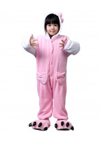 Kids Rabbit Pajamas Animal Onesies Costume Kigurumi