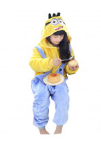 Kids Minions Pajamas Animal Onesies Costume Kigurumi