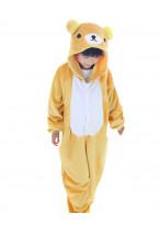 Kids Rilakkuma Pajamas Animal Onesies Costume Kigurumi