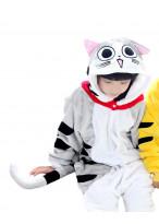 Kids Chi Cat Pajamas Animal Onesies Costume Kigurumi