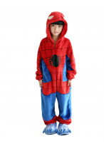Kids Spider man Pajamas Animal Costume Kigurumi