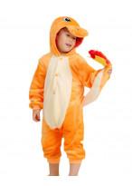 Kids Charmander Pajamas Animal Onesies Costume Kigurumi