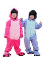 Kids Stitch Pajamas Animal Onesies Costume Kigurumi
