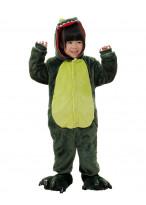 Kids Green Dinosaur Pajamas Animal Onesies Costume Kigurumi