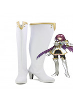 Fate Extella Link Lancer Scathach Military Version Cosplay Long Boot Shoes