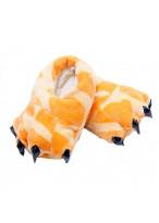 Unisex Animal Giraffe cosplay Kigurumi fleece slippers shoes