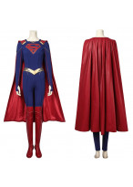 Supergirl Costume Cosplay Suit with Cloak Kara Zor-El Supergirl Season 5 Ver.1