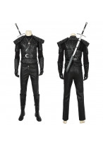 Geralt of Rivia Costume Cosplay Suit Gwynbleidd The Witcher Ver.1
