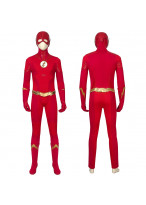 The Flash Costume Cosplay Suit Barry Allen The Flash Season 5 Halloween Outfit Version 1