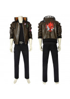 Cyberpunk 2077 Costume Jacket V Cosplay Full Set Vision 1