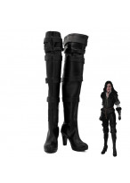 The Witcher 3 Wild Hunt Yennefer Render Cosplay Shoes Women Boots Version 1